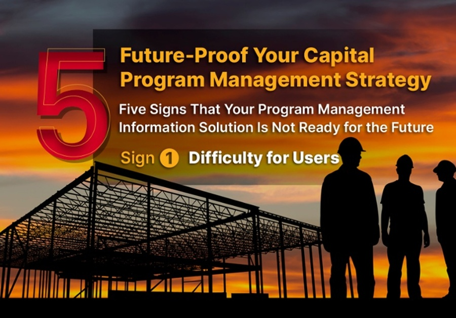 Five signs that Your Program Management Information Solution is Not Ready for the Future -Sign 1