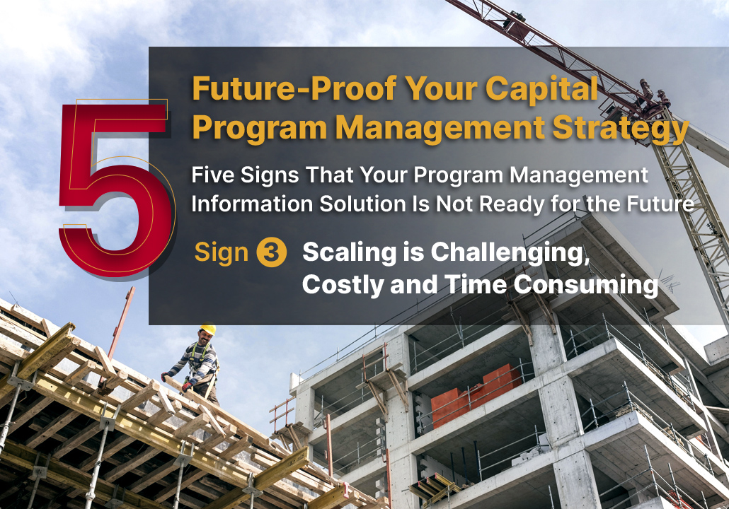 Five signs that Your Program Management Information Solution is Not Ready for the Future - Sign 3